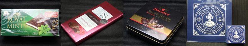 ドイツのチョコレートブランド